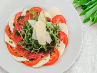 Karpaćo kapreze salata Splav restoran Viva dostava