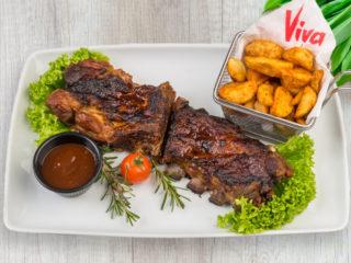 Svinjska rebra Splav restoran Viva dostava