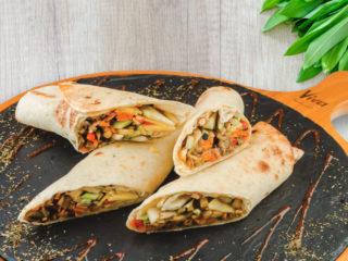 Tortilja vege Splav restoran Viva dostava