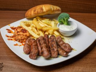 Cevapi meal delivery