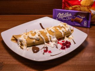 Milka crepe delivery