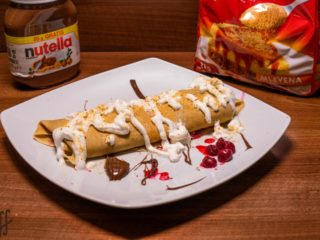 Crepe with nutella delivery