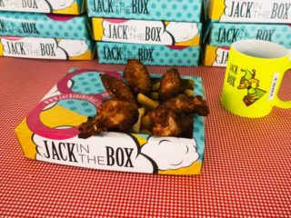 Wings XL Jack In The Box delivery