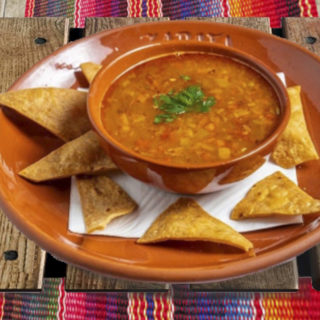 Mexican vegeable soup – hot delivery