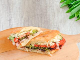 Pica sendvič sa kulenom Splav restoran Viva dostava