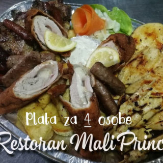 Platter special for 4 people Mali Princ delivery