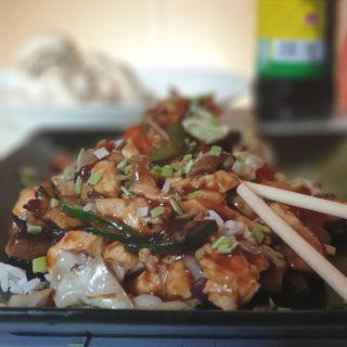 Piletina sa pečurkama Tošin Wok dostava