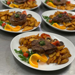 Biftek na žaru Vila Bela Ruža dostava