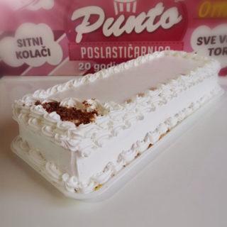 Bela lešnik torta Poslastičarnica Punto dostava