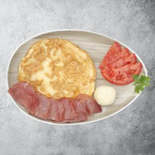 Prosciutto breakfast Fabrika pizze delivery