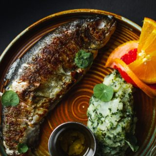 Grilled trout fresh Protina Kuća delivery