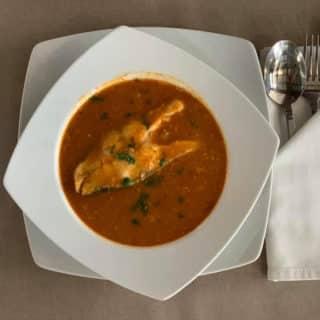 Spicy fish broth Vila Bela Ruža delivery