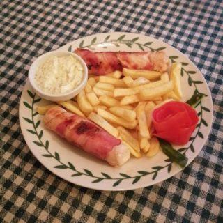 Punjeno belo u slanini Dedina Tajna dostava