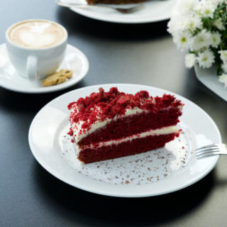 Red velvet cake Milly's Bistro delivery