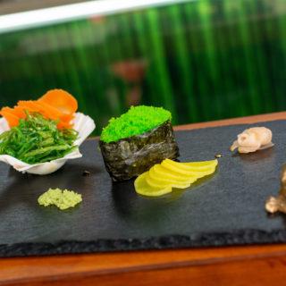 Tobiko gunkan Sushi King dostava