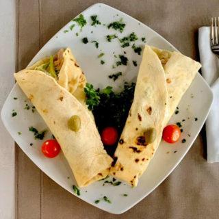 Tortilla meal Vila Bela Ruža delivery