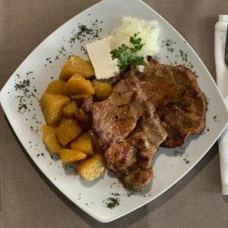 Grilled pork neck Vila Bela Ruža delivery