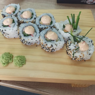 Yasai rolls delivery