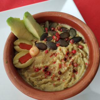 Spicy avocado hummus Equilibrium delivery
