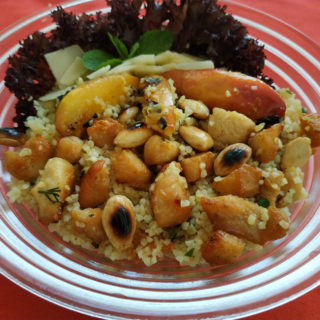 Summer vitamin salad with bulgur Equilibrium delivery