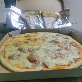 Quattro Stagioni 50cm i 2xCrepe Eurocream-plazma Mamadoo Pizzeria delivery
