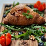 Salmon croissant