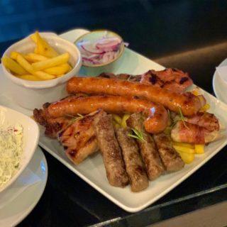 Mešano meso za dve osobe Park Restoran dostava