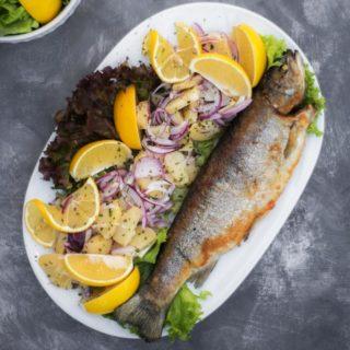 Grilled trout Kućerak Na Ribarcu delivery