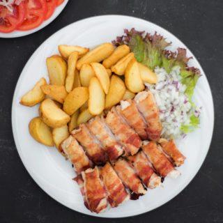 Chicken skewers in bacon Kućerak Na Ribarcu delivery