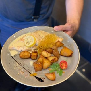 Piletina u krem-limun sosu Park Restoran dostava