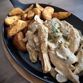 Chicken fillet in mushroom sauce La Nostra Casa delivery