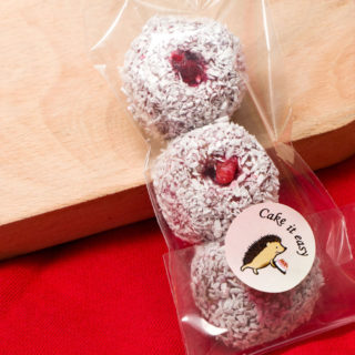 Protein raspberry balls Equilibrium delivery