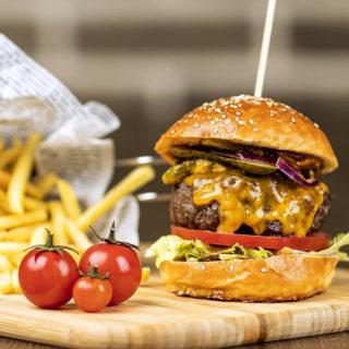 Burger Dry Age clasico Cezar Restoran Picerija dostava