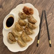Pork dumplings – fried