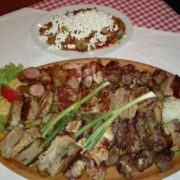 Mixed grilled meat for two