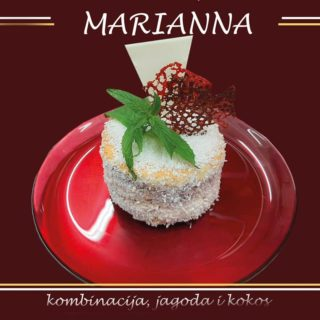 Marianna cake All'oro Gold dostava