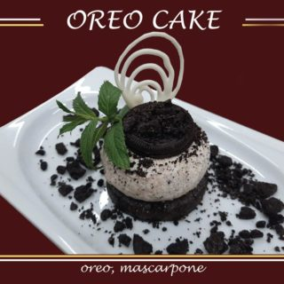 Oreo cake All'oro Gold dostava