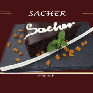 Sacher – original All'oro Gold dostava