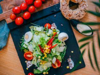 Vegetarijanska salata Bagel Bejgl dostava