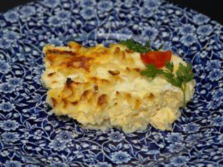 Zapečene makarone sa sirom porcija Moderna domaćica dostava