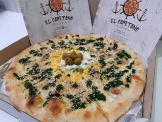 Green pizza El Capetano dostava