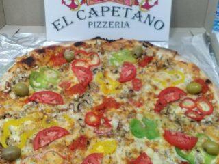 Vegeterijana pizza El Capetano dostava