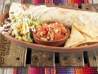 Burrito Vegetarianos Zapata Rio dostava