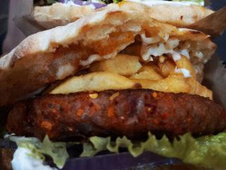 Gurmanska pljeskavica mala Pljeskovac Hamburgerija dostava
