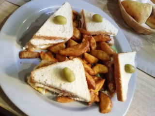 Club sandwich Barka Restoran delivery