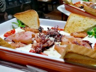 Lignje u sosu od parmezana Barka Restoran dostava