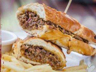 Philadelphia cheese steak Brunch burger bar dostava