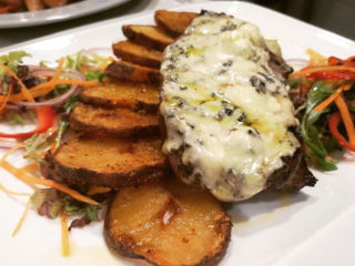 Ramsteak with gorgonzola Barka Restoran delivery