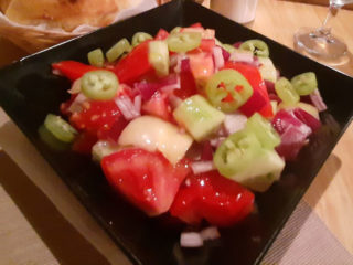 Srpska salata Barka Restoran dostava
