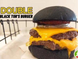 Double black Tor's burger Tors dostava